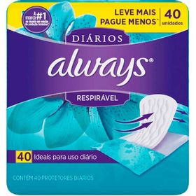 ABS-ALWAYS-PROT-DIARIOS-RESPIRAVEL-40UN