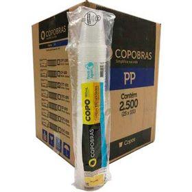 COPO-DESCART-COPOBRAS-BCO-PP-180MLX100UN