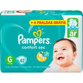 FRALDA-PAMPERS-CONFORT-SEC--G--38--4UN