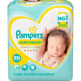 FRALDA-PAMPERS-PREM-CARE--RN--20UN