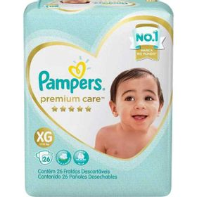 FRALDA-PAMPERS-PREM-CARE-MEGA--XG--26UN