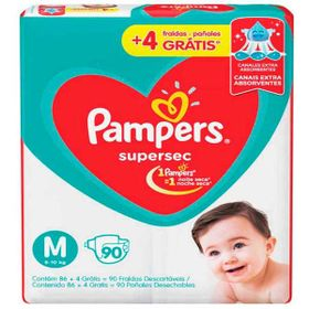 FRALDA-PAMPERS-SUPERSEC--M-90UN