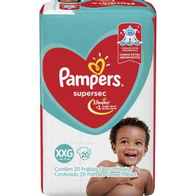 FRALDA-PAMPERS-SUPERSEC--XXG-20UN