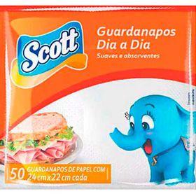 GUARDANAPO-SCOTT-CQ-24X22-50UN