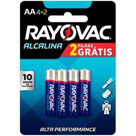 PILHA-RAYOVAC-ALCAL-SM-AA6-LV6-PG4