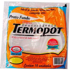 PRATO-DESCART-TERMOPOT-FUNDO-21CMX10UN