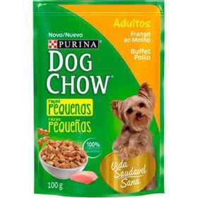 RACAO-DOG-CHOW-ADULTO-FRANGO-MOLHO-100GR