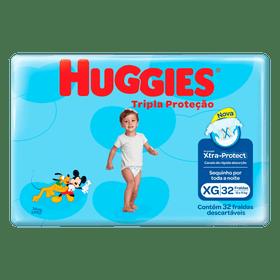 FRALDA-HUGGIES-TRIP-PROT-MEGA-XG-32UN